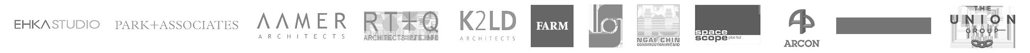 DLE | MPBS | RG ARCHITECTS | NGAI CHIN CONSTRUCTION PTE LTD | RT+Q ARCHITECTS | SO SOFITEL | EUROKARS | PORSCHE | MAZDA